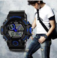 abs watch battery - SKMEI S SHOCK m Waterproof Military Wrist Watch ABS Resin S S CAMO jelly Quartz Analog Digital