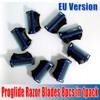 ru - Super qualityMen s Proglide Razor Blades in pack sharpener shaving razor blades Retail Package EU and RU Version