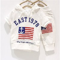 american flag outfits - 12 Designs East Flag Casual Boy s Tracksuits Hoodies Shirts Outfits Short Pants White Baby Boy T Shirts Trouser Sets