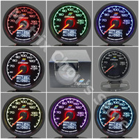 oil display - Greddy Gauge Oil Temp Gauge Light Color LCD Display With Voltage Oil Temperature Gauge mm Inch With Sensor Racing Gauge