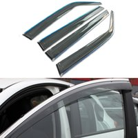 accord window visor - 4pcs Car Styling Vent Shade Sun Rain Guard Cover Window Visor For Honda Accord th Accessories Shield
