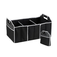 abs automobile - nterior Accessories Stowing Tidying Car Organizer Boot Stuff Food Storage Bags trunk organiser Automobile Stowing Tidying Interior Access