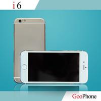 Wholesale Unlocked Cell Phones quot goophone i6 plus phones v2 MTK6582 Quad Core GB GB Smartphones Android G Nano SIM Mobile Phones MP