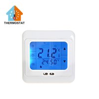 Wholesale New Floor Heating Parts Systems room Thermostat Temperature Controller Thermometer
