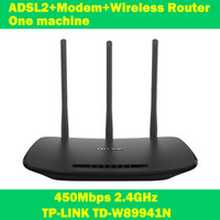 adsl routers - NEW TP LINK TD W89941N Mbps ADSL modem wifi extender wireless router one machine antenna for home computer networking IPTV
