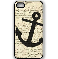 apple iphone angels - Angel Wings Fashion Sailor Anchor vintage Protective Hard Mobile Phone Case Cover For Iphone S S C