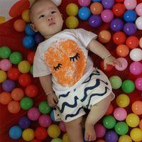 Boy baby thumb - 2016 Bobo Choses Thumb glasses pattern Shirt Baby INS Cotton styles pattern Tees infant Girls Boys White Tops Short Sleeve