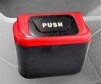 Wholesale High quality car accessories Creative mini car trash debris bucket auto storage box pc