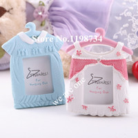 baby place clothes - Wedding Favor Cute Baby Clothing Design Place Card Frame Baby Shower Favors More Colors a set of pieces