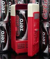 Wholesale Mini Desktop USB Fridge small desk fridges with door to fit a coke can in