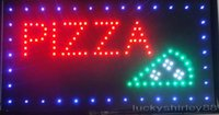 pizza sign - 2015 new arriving Led Pizza Neon sign billboard indoor advertising led displays size inch