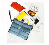 Wholesale Fashion Unisex Storage bag Durable Soft Pad tablet Organizer For iPad freeshipping