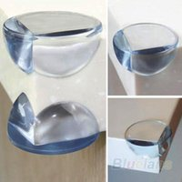 Wholesale 10 Child Baby Safe Safety silicone Protector Table Corner Edge Protection Cover Children