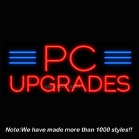 best pc upgrade - PC Upgrades Neon Sign Neon Bulbs Recreation Room Garage Real Glass Tube Handcraft Best Gifts Beer Pub Display x13