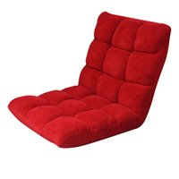 Wholesale Red Color Lazy Boy Sofa Yoga Mat Folding Sofa Bed Living Room Furniture Stock in USA