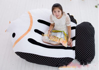 Wholesale Fancytrader cm X cm Cute Giant Soft Lovely Stuffed Flounder Sofa Tatami Mattress Bed FT50660