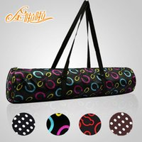 Wholesale Gold quality thickening yoga mat waterproof backpack multifunctional breathable yoga mat bag