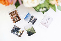 Wholesale sheets photographic paper Japan Instax White Film For Mini s and s Instant Camer