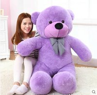 Wholesale NEW cm colors big teddy bear plush toy doll baby toys classic big hug Bear Valentine s Day Christmas birthday