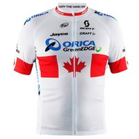 team canada jerseys - 2015 ORICA GREENEDGE PRO TEAM CANADA RED WHITE ONLY SHORT SLEEVE ROPA CICLISMO SHIRT CYCLING JERSEY CYCLING WEAR SIZE XS XL