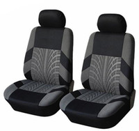 Wholesale BLACK GRAY PROTECTIVE UNIVERSAL CAR SEAT COVERS FOR NISSAN MICRA VW LUPO AND UNIVERSAL CATS