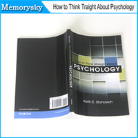 Wholesale new book How to think straight about psychology by Keith E Stanovich books hot sale