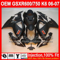 For Suzuki gsxr 600 fairing - 7gifts Seat Cowl For SUZUKI GSXR Matte black K6 GSXR750 GSXR600 C L83 ALL Flat black GSX R600 R750 Injection Fairing