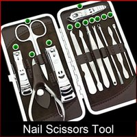 beauty manicures pedicures - Nail Clipper Manicure Grooming Kit Pedicure Kits Beauty Care Set Stainless Steel Tool US EU AU Popular Nail Manicure Sets freeshipping