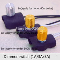 Wholesale AC V V Home Use Light Dimmer Switch Brightness Adjustable Controller Knob Switch a a5a knob