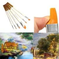 Wholesale New Arrival Hot Sale Set Professional Drawing Set Acrylic Oil Watercolors Artist Paint Brushes