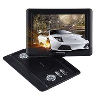 Wholesale DBPOWER quot Portable DVD Player Swivel Screen Supports SD Card and USB Direct Play in Formats MP4 AVI RMVB MP3 JPEG Black