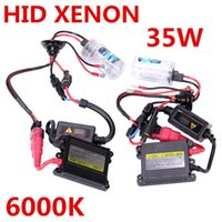 best auto hid kits - Best Price HID Xenon Kit Car Headlight Slim Ballast W H1 H3 H7 H8 H11 Xenon Bulb DC12V Auto Car Styling FreeShipping