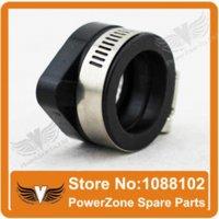 Wholesale Motorcycle Dirt Bike Racing Carburetor Rubber Adapter Inlet Intake Pipe For MIKUNI VM24 OKO KOSO KEIHIN PE28 mm mm