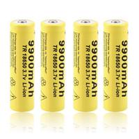 2pcs 3.7V 18650 9900mah Li-ion rechargeable pour LED lampe torche UF soutien aux anciens d'importation Batterie de base Evod Twist Batterie E