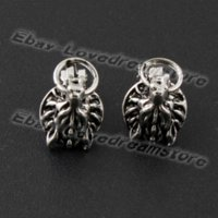 animations pairs - Japanese Animation Cool Pair of Final Fantasy VII Cloud Cloudy Wolf Metal Clip Earrings For Gift NIB