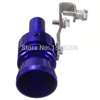 Wholesale Brand New Universal Blue Car Turbo Sound Whistle Exhaust Muffler Bov Blow Off Valve XL Size small order no tracking