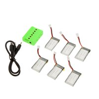 Wholesale 6 mAh mah V mAh mAh hubsan X4 H107 h107l h107c h107d X6 helicopter and charger