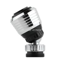 Wholesale 1pc Rotate Water Bubbler Swivel Saving Tap Faucet Aerator Connector Diffuser Nozzle Filter Mesh Adapter Kitchen accessories A3