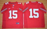 Wholesale Ohio State Ezekiel College Football Jerseys RED Jersey size M XXL