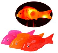 battery operated ride - The simulation of electric fish Panchromatic glow with music Can sing flash run free fish swim