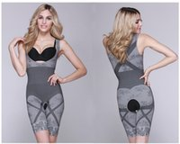 body shapers - New Design Shapers Women Bamboo Fiber Charcoal One piece Underwear Ladies Lift Body Shapers Slim Suit Postnatal Slimming Under Clothes H2655