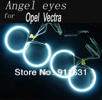 auto inverters - GPS Car CCFL Angel Eyes setor For Opel Vectra Halo Ring Angel Eyes Inverters Auto Headlight White Blue Red Green Choose