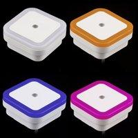 auto halogen bulbs - Auto LED Light Induction Sensor Control Bedroom Night Lights Bed Lamp US Plug