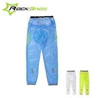 Wholesale RockBros Outdoor Sport MTB Road Bike Bicycle Cycling Rainproof Breathable Compressed Waterproof Rain Pants Tights Clothing