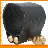 Wholesale High Quality Practical Alto Saxophone Mouthpiece Alto Sax Mouthpiece with Cap Leather Clip
