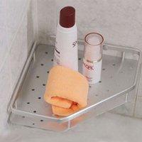 Wholesale Diamond shape sanding surface aluminum towel rack shampoo holder HC103