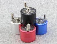 aluminum metal detector - Retail PC Metal grinding smoke detector Shaking the whole aluminum mill smoke detector Four layers of the smoke cracke