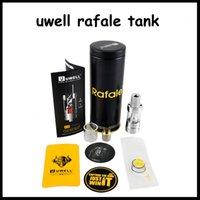 anti cloning - 2016 clone Uwell new tank Uwell Crown Sub Ohm Tank Rafale Tank ml Patented ASB system Anti Spit Back VS Uwell Crown tank