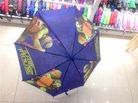 Wholesale Teenage Mutant Ninja Turtles Umbrellas cartoon kids children boys girls Umbrella sunny and rainy Umbrellas new Christmas gift