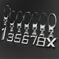 Wholesale Zinc Alloy Metal Car Logo Chaveiro Keychain Key Chain Key Ring Keyring For BMW X Key Holder